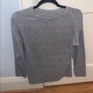 Plain grey comfy long sleeve